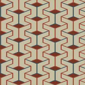 Fardis Escher Beige-Red 12004