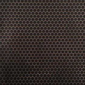 Fardis Hexagon Black-Metallic 12134