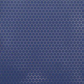 Fardis Hexagon Blue-Metallic 12141