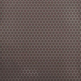 Fardis Hexagon Brown-Metallic 12139