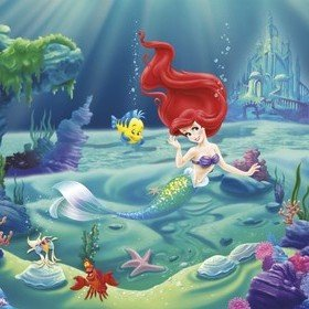Fine Decor Disney Ariel 4-463