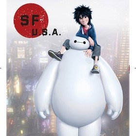 Fine Decor Disney Baymax Wall Sticker 14042H