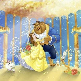 Fine Decor Disney Beauty And The Beast 8-4022