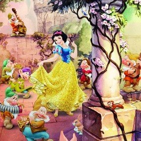 Fine Decor Disney Dancing Snow White 4-494