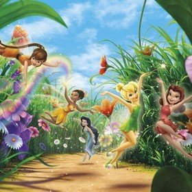 Fine Decor Disney Fairies Meadow 8-466