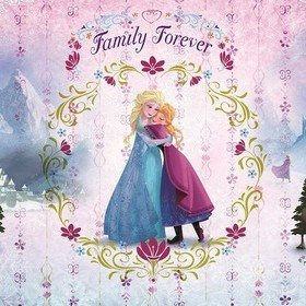 Fine Decor Disney Frozen Family Forever 8-479