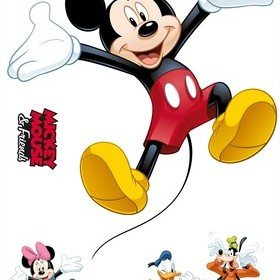 Fine Decor Disney Mickey Mouse And Friends Wall Sticker 14017H