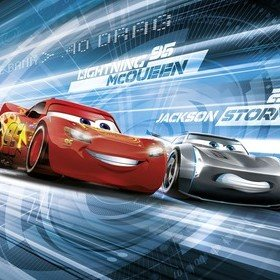 Fine Decor Disney Pixar Cars 3 Simulation 4-423