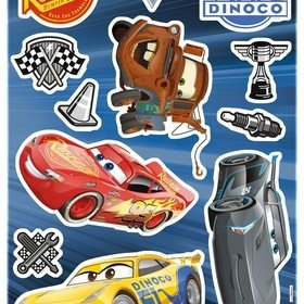 Fine Decor Disney Pixar Cars 3 Wall Sticker 14052H