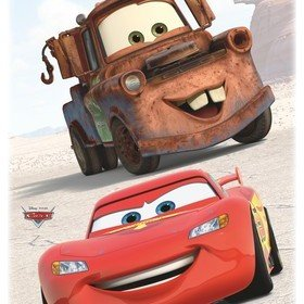 Fine Decor Disney Pixar Cars Friends Wall Sticker 14015H