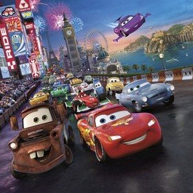 Fine Decor Disney Pixar Cars Race 4-401