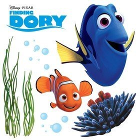 Fine Decor Disney Pixar Finding Dory Window Sticker 16409
