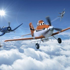 Fine Decor Disney Planes Above The Clouds 8-465