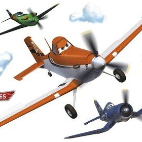 Fine Decor Disney Planes Dusty Wall Sticker 14700H