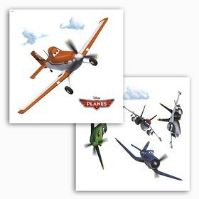 Fine Decor Disney Planes Window Sticker 16401