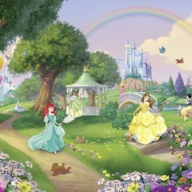 Fine Decor Disney Princess Rainbow 8-449