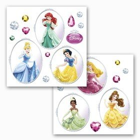 Fine Decor Disney Princess Window Sticker 16402