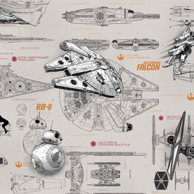 Fine Decor Disney Star Wars Blueprints 8-493