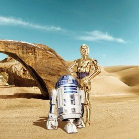 Fine Decor Disney Star Wars Lost Droids 8-484