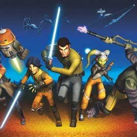 Fine Decor Disney Star Wars Rebels Run 8-486