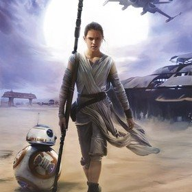 Fine Decor Disney Star Wars Rey 4-448