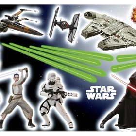 Fine Decor Disney Star Wars Wall Sticker 14029H