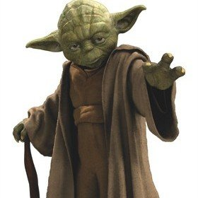 Fine Decor Disney Star Wars Yoda Wall Sticker 14721H