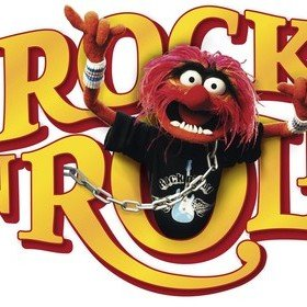 Fine Decor Disney The Muppets Rock N Roll Wall Sticker 14010H