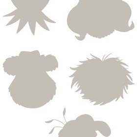 Fine Decor Disney The Muppets Wall Sticker 14005H