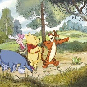 Fine Decor Disney Winnie The Pooh Expedition 4-411