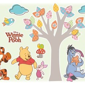 Fine Decor Disney Winnie The Pooh Nature Lovers Wall Sticker 14014H