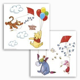 Fine Decor Disney Winnie The Pooh Window Sticker 16403