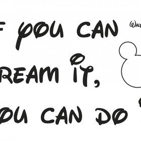 Fine Decor Disney You Can Do It Wall Sticker 14002H
