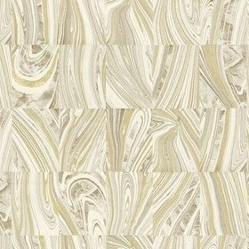 Fine Decor Martian Beige-Metallic Gold C88617