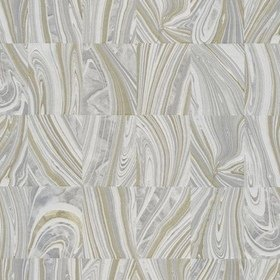 Fine Decor Martian Grey-Metallic Gold C88616