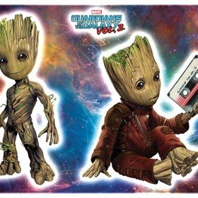Fine Decor Marvel Groot Wall Sticker 14054H