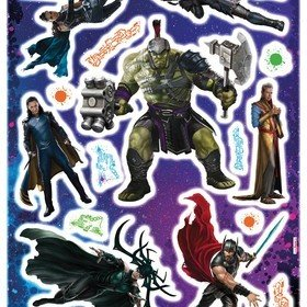 Fine Decor Marvel Thor Ragnarok Wall Sticker 14053H