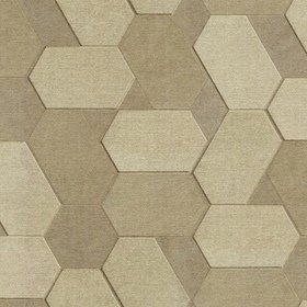 Fine Decor Polygon Pale Gold-Beige-Metallic C88602