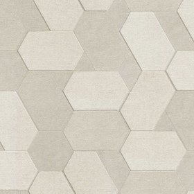 Fine Decor Polygon Rose-Beige-Metallic C88604