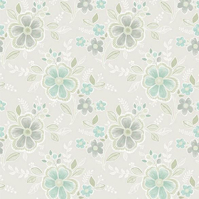 Fine Decor Chloe Aquamarine Floral 2657-22201