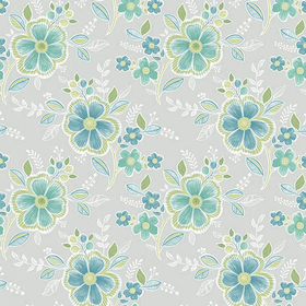 Fine Decor Chloe Green Floral 2657-22200
