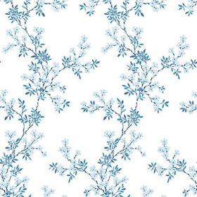Fine Decor Claire Blue Floral Trail 2657-22261