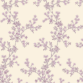 Fine Decor Claire Purple Floral Trail 2657-22264