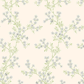 Fine Decor Claire Silver Floral Trail 2657-22262