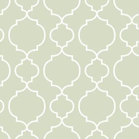 Fine Decor Desiree Sage Quatrefoil 2657-22258