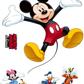 Fine Decor Disney Micky and Friends Stickers 14017