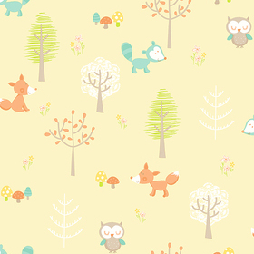 Fine Decor Forest Friends 2679-002107