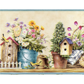 Fine Decor Garden Border 7002-B50161