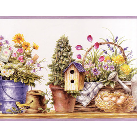 Fine Decor Garden Border 7002-B50162