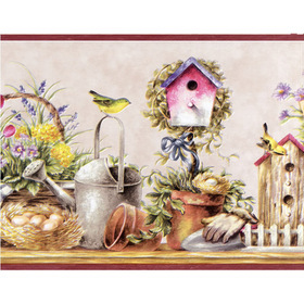 Fine Decor Garden Border 7002-B50163